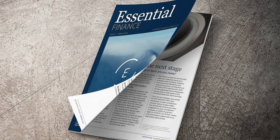 Essential Finance - Winter 2018