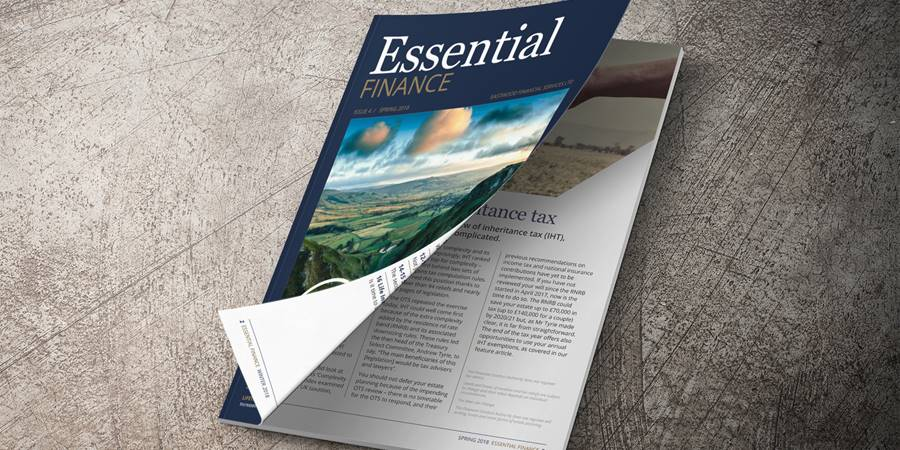 Essential Finance - Spring 2018