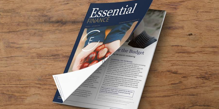 Essential Finance - Autumn 2018